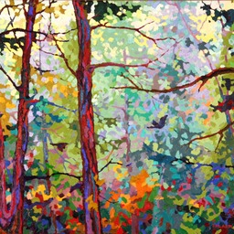 13 -0327 Evening Light With Ravens III