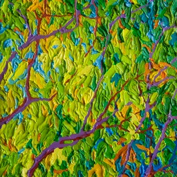 "Autumn Breeze Sant Fe - 9"" x 12"""