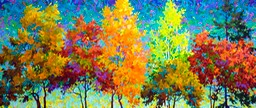 "Autumn Celebration - 26"" x 60"""