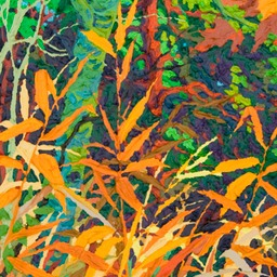"Autumn Fire I - 32"" x 14"""