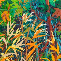 "Autumn Fire II - 32"" x 14"""