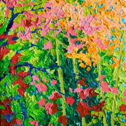 "Autumn Gems Sant Fe - 9"" x 12"""