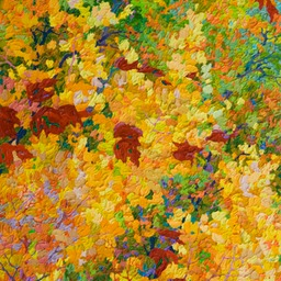 "Autumn on the Rio Grande  - 27"" x 38"""