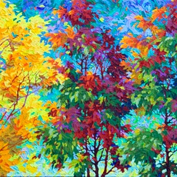 "Autumn Song  - 24"" x 72"""