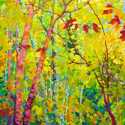 Balaams Wood - Stand of Cherry Birches II LO Web