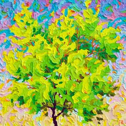 "Conversation of the Seasons - Summer - 12"" x 12"""