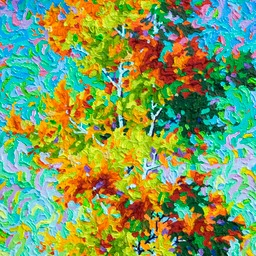 "Conversation Series - Laughing LIght - 32"" x 16"""