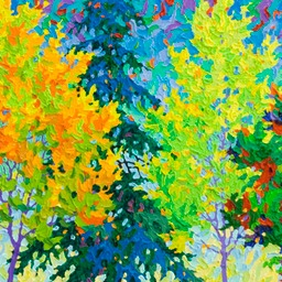 "Conversation Series - On The Way To The Studio - 16"" x 42"""