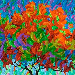 "Conversations - Gem - On the Way to the Studio I - 9"" x 12"""