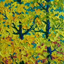 "Cool autumn Light Santa Fe - 9"" x 12"""