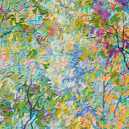 "Cool Winters Light I  - 24"" x 24"""