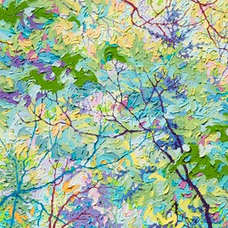 "Cool Winters Light II  - 24"" x 24"""