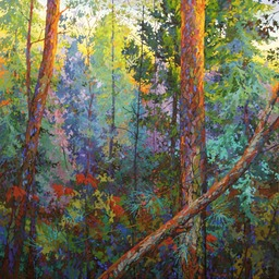 Evening II - 5 ft x 5 ft