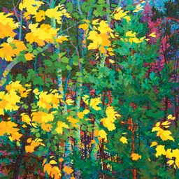 "Evening Jewels - 46"" x 46"""