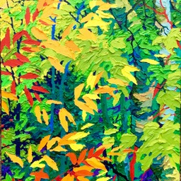 "Autumn Jewels II - 32"" x 14"""