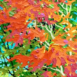 "Conversation Gems - Blustery Day - 12"" x 9"""