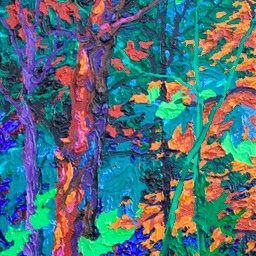 "Gaze - Aladdin's Forest I - 14"" x 11"""
