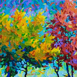 "Gaze - Autmn Celebration II - 11"" x 14"""
