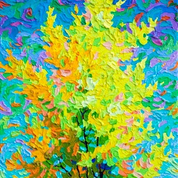 "Gaze - Autumn Celebration IV  - 14"" x 11"""