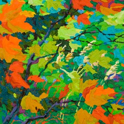 "Gaze - Breath of Life I - 14"" x 11"""