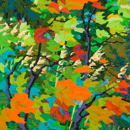 "Gaze - Breath of Life II  - 14"" x 11"""