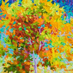 "Gaze - Conversation Series Autumn Glory - 11"" x 14"""