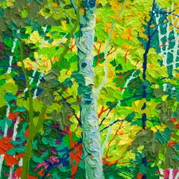 "Gaze - Evening Aspens III New - 14"" x 11"""