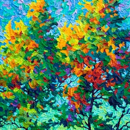 "Gaze - Everything Turned into a Tree - 14"" x 11"""
