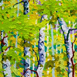 "Gaze - Fresh Air - 14"" x 11"""