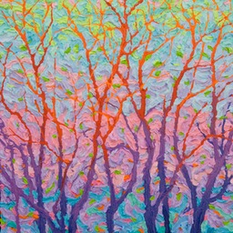 "Gaze - Looking East  - 14"" x 11"""