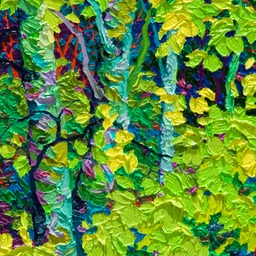 "Gaze - Night LIght II  - 14"" x 11"""
