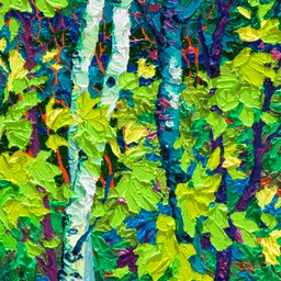 "Gaze - Night Light III  - 14"" x 11"""