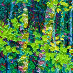 "Gaze - Night Light IV  - 14"" x 11"""