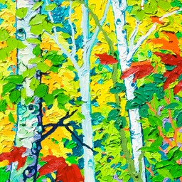 "Gaze - Pandos Children I  - 14"" x 11"""