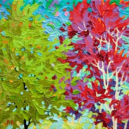 "Gaze - Peace and Love  - 11"" x 14"""