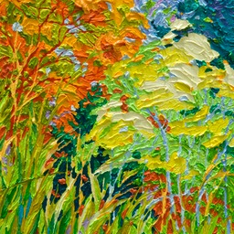 "Gaze - Santa Fe Marsh II - 14"" x 11"""