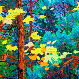 "Gaze - Wild Wood Black Reef I - 11"" x 14"""