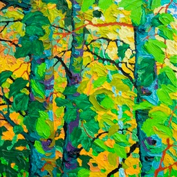 "Gaze -Summer Dance I  - 14"" x 11"""