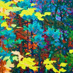 "Gaze - Wild Wood Black Reef II  - 11"" x 14"""