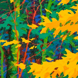 "Gaze Leaf Lighteing III - 14"" x 11"""