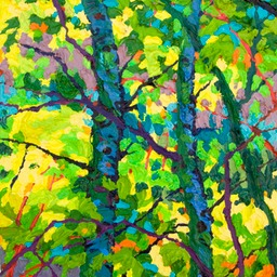 "Gem - Aspen Shadows II - 9"" x 12"""