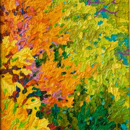 "Gem - Autumnal Fire - 9"" x 12"""