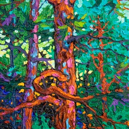 "Gem - Awakening Night I  - 12"" x 9"""