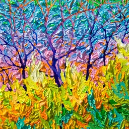 "Gem - Eastern Sunset in the Southwest - 12"" x 9"""