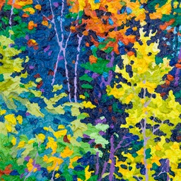 "Gem - Mountain Shadow I - 12"" x 9"""