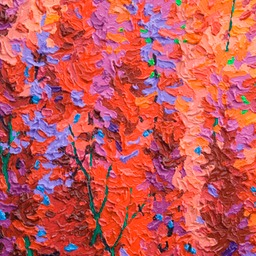 "Gem - Red Velvet Tree II - 12"" x 9"""