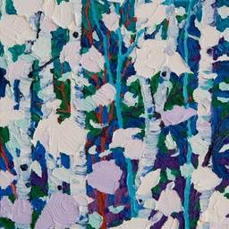 "Gem - Snow Light II  - 12"" x 9"""