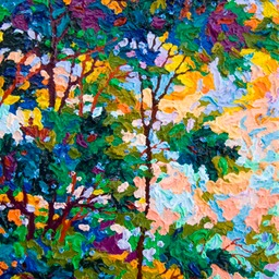 "Gem - Southwest Skies I  - 12"" x 9"""