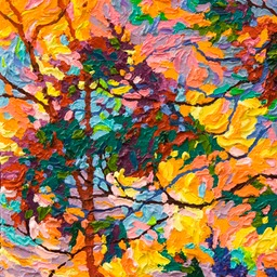 "Gem - Southwest Skies V  - 12"" x 9"""