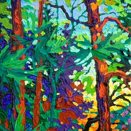 "Gem- Twilight Glow III  - 12"" x 9"""